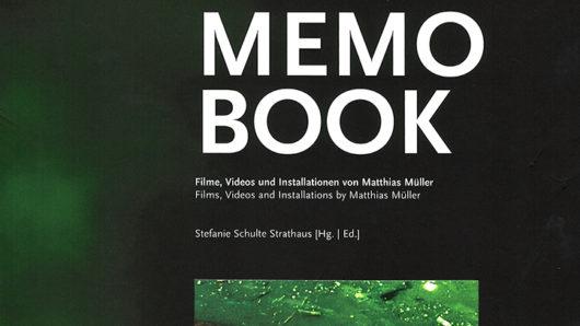 Memo Book Cover Matthias Müller