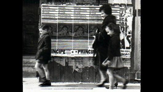 Posters advertising the first Festival de Cine Experimental y Documental, August 13-17, 1964, in Córdoba, Argentina. Source: Archivo fotográfico de la Universidad Católica de Córdoba.