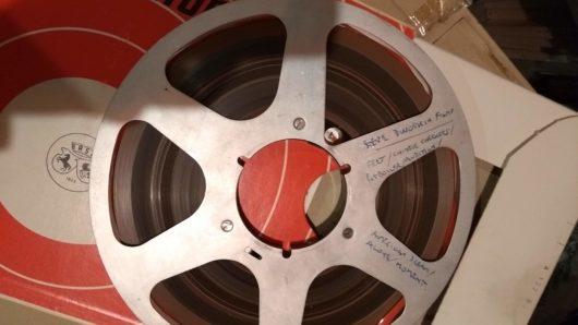 Ron Geesin's master tape