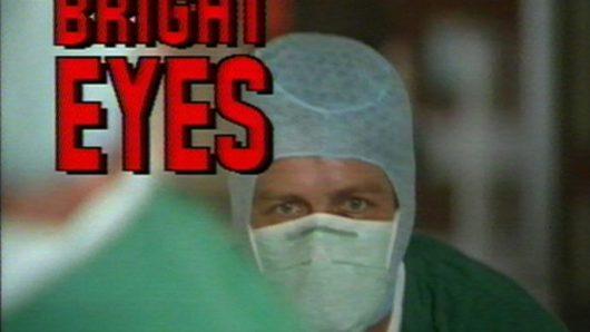 Still from Bright Eyes, Stuart Marshall, 1984